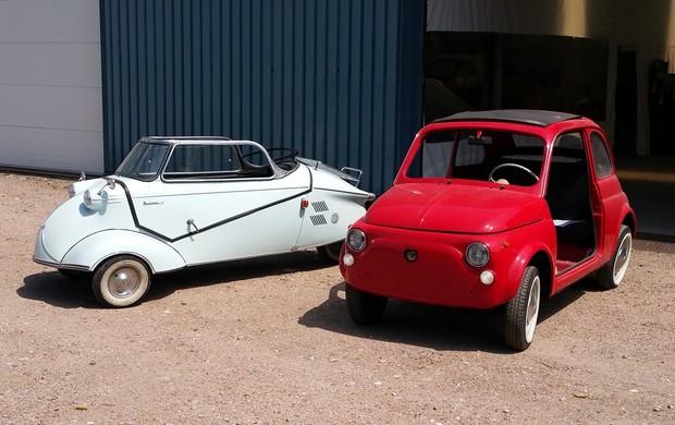 Fiat 500 en Messerschmitt