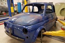 Fiat 500 L blauw