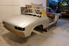 Porsche 914 zilver